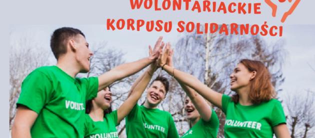 Konkurs na mini granty na inicjatywy wolontariackie Korpusu Solidarności w województwie pomorskim.
